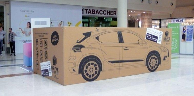 Car Server ha portato il noleggio a lungo termine nei centri commerciali. L'iniziativa pilota è partita al GrandEmilia di Modena
