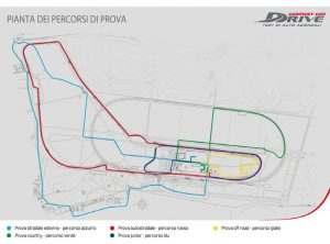 Company Car Drive 2016, fleet manager in pista - percorsi