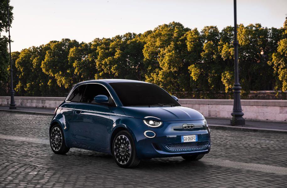 Nuova Fiat 500e la Prima berlina