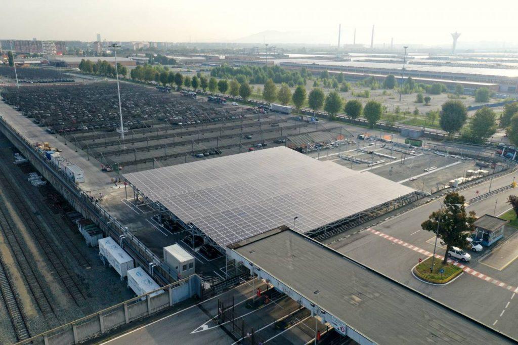 V2G area IAT Piazzale del Drosso - Mirafiori Complex, Torino