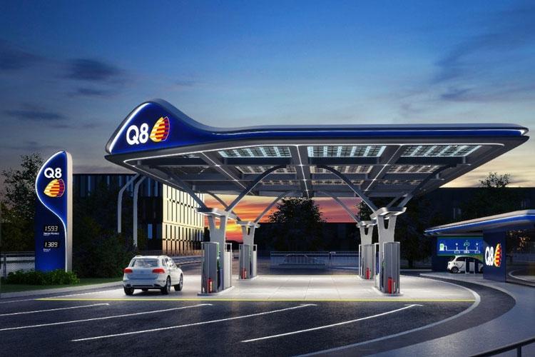 Stazione di servizio q8