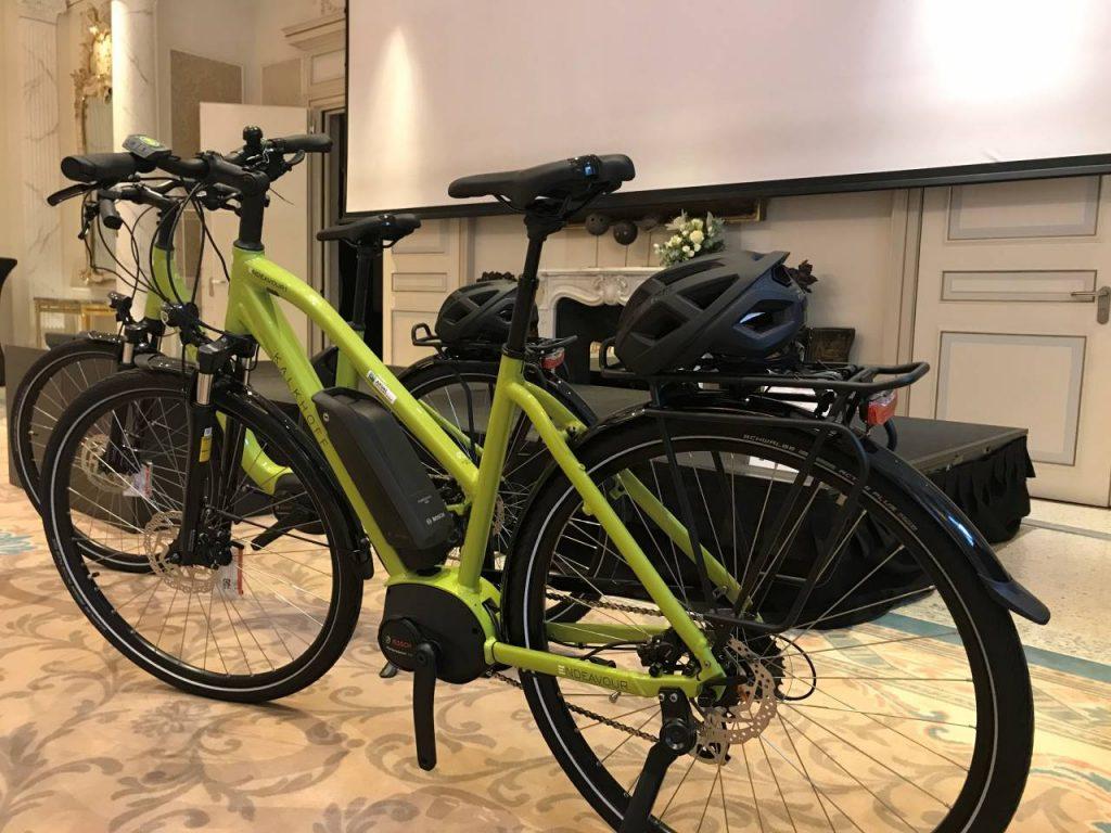 Arval Press Conference bici