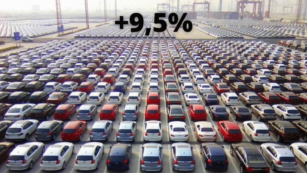 mercato auto italia: +9,5% a settembre